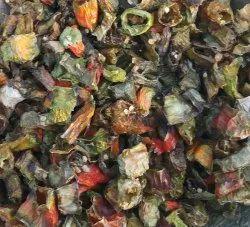 Dried Green Chilli