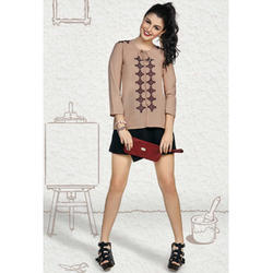 Stylish Embroidered Top