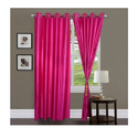 Plain Pink Curtain
