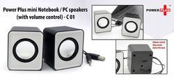 C01 - Power Plus Mini Notebook PC Speakers