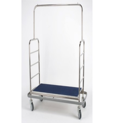 Stainless Steel Luggage Trolley