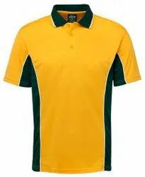 Polyester Men Polo T Shirt, Size: Large