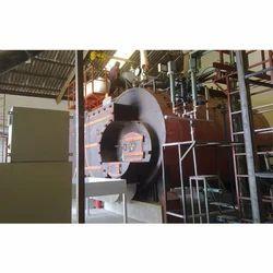 Nutshell Fired 2 TPH Fully Wetback Steam Boiler