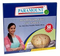 Paramount Aluminium Foil Pre Cut Sheets Packs