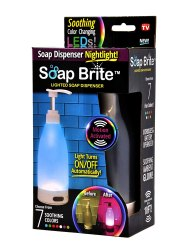 Soap Brite Soap MC6 LED Lighted Dispenser - soap brite