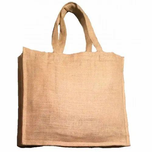 Handled Printed Eco Friendly Jute Bag