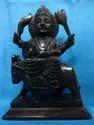Black Marble Shani Statue
