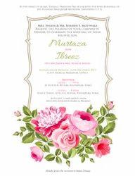 Portrait, Rectangular Wedding Invitation Cards