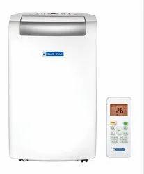 White Bluestar Portable AC, Coil Material: Copper, Capacity: 1.0 Ton