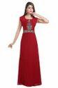Henna Party Wear Maxi Kaftan Dress For Arabian Ladies