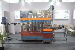 Pet Bottle Rinsing Filling Capping Machine (Capacity: 1400 - 1800 Bottles/hr)