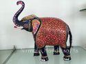 Metal Elephant Statues
