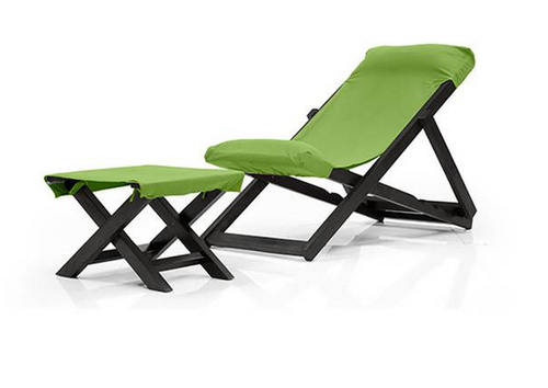 Astounding Matira Deck Chair And Foot Stool Beatyapartments Chair Design Images Beatyapartmentscom