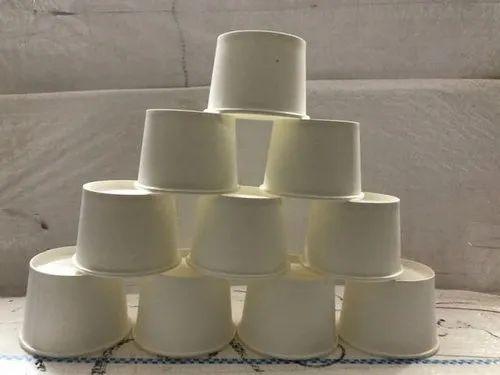 Disposable Plain Paper Cup 100ml