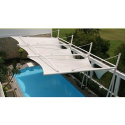 Pool Side Tensile Structure