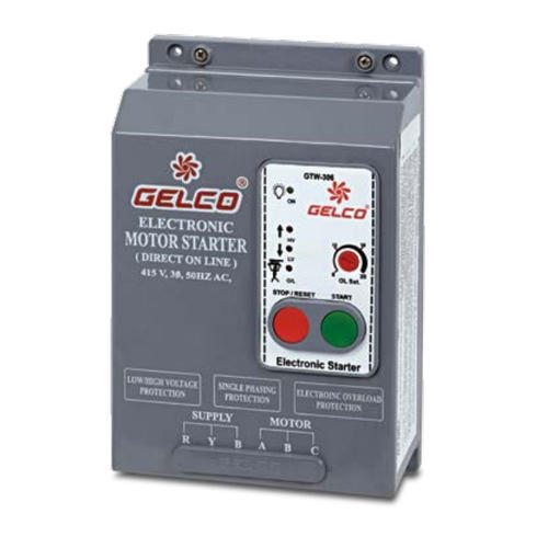 gelco automatic three phase dol motor starter