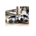 Metal Exports Stainless Steel Belly Non Tip Pet Bowls With Anti-skid Ring, For Home Purpose