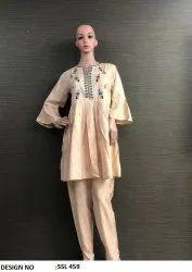 Rayon Top Pent Dress