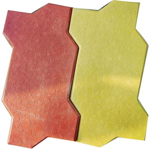 Ceramic Zigzag Zig Zag Interlocking Tiles, 60mm & 20-25mm