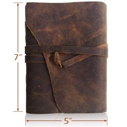Handmade Leather Journals, Vintage Leather Diaries, Handmade Diaries, Brown, Antique, Leather