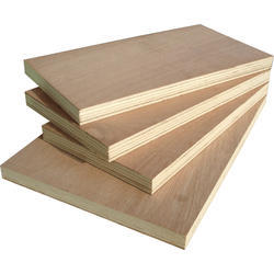 Poplar Brown Plywood Block Board, Size: 8' x 4', Matte