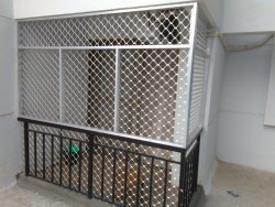 Aluminium Partition Fabrication Fences