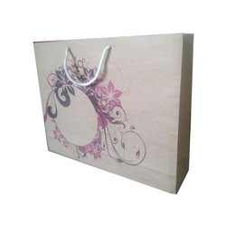 Brown Sanghvi Enterprise Printed Paper Gifting Bag, Capacity: 10 Kg, For Promotional