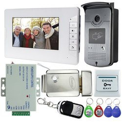 White Video Door Phone with Remote ( CP-PVK-70TH )