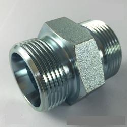 Stainless Steel KE Hydraulic Adapter, Size: 1/4 Inch-1 Inch