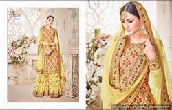 Embroidered Georgette Sarara suits
