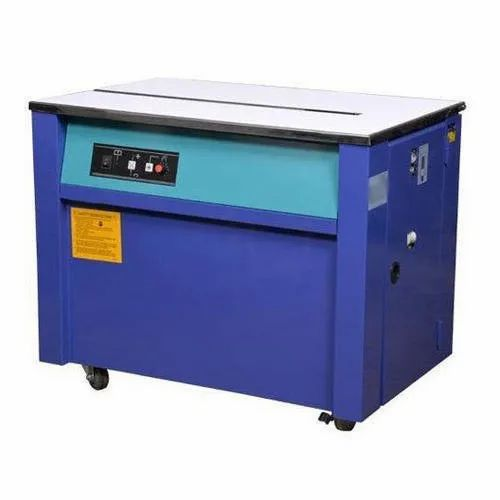 Senghal Phase PVC Automatic Box Strapping Machine, Capacity: Veriable, Packaging Type: Strapping Patti