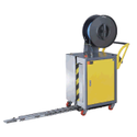 Mild Steel Single Phase Semi Automatic Pallets Strapping Machine, For Industrial, 1.5 Sec/strap