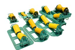 Beam Clamp Pipe Roller PU Coated