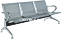 Stainless Steel Waiting Chairs Wc - 452, Size: 71 X 27 X 31 Feet
