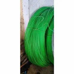 Green PVC Coated GI Wire