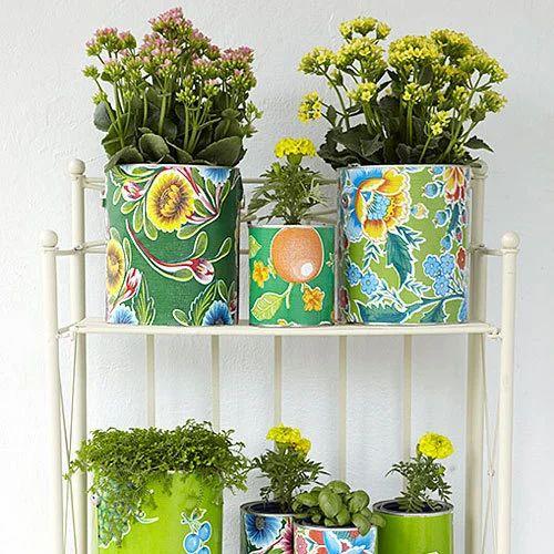 Round Indoor Plant Planter Rs 350 Piece Deco World Id 16186648655