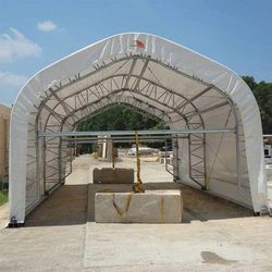 PVC Coated Sheds Cover Fabric