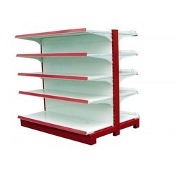 MS Double Sided Supermarket Rack