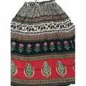 Ladies Bagru Print Skirt