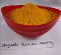 Powder Organic Turmeric Suppliers From India, For Superfood Powders, Cosmetics, Packaging Size: 100g