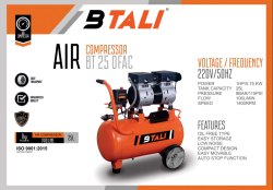 Oil Free Air Compressor  Btali Bt 25 Ofac