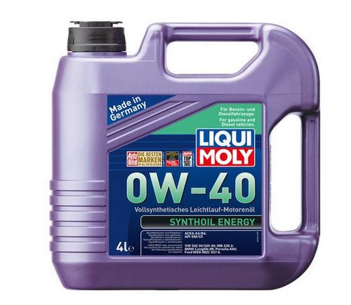 0w 40 Liqui Moly Synthoil Diesel Engine Oil (4 L)