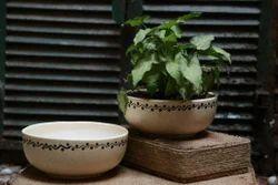 Bowl Ceramic Planter