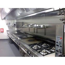 SS Commercial Hotel kitchen