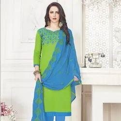 Beautiful Cotton Work Salwar Suit