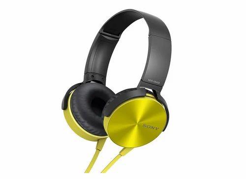 e42b2782060 Sony MDR-XB450 On-Ear EXTRA BASS Headphones (Yellow), Bass Headphone ...