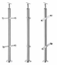 Modular Stainless Steel Fancy Railings Baluster