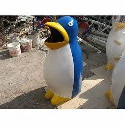 D 07 FRP Penguin Dustbin