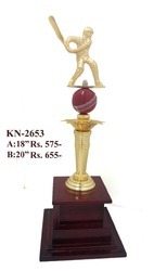 Gold Cricket Trophy