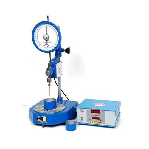Bitumen Penetration Test Apparatus, कोलतार के परीक्षण ...
